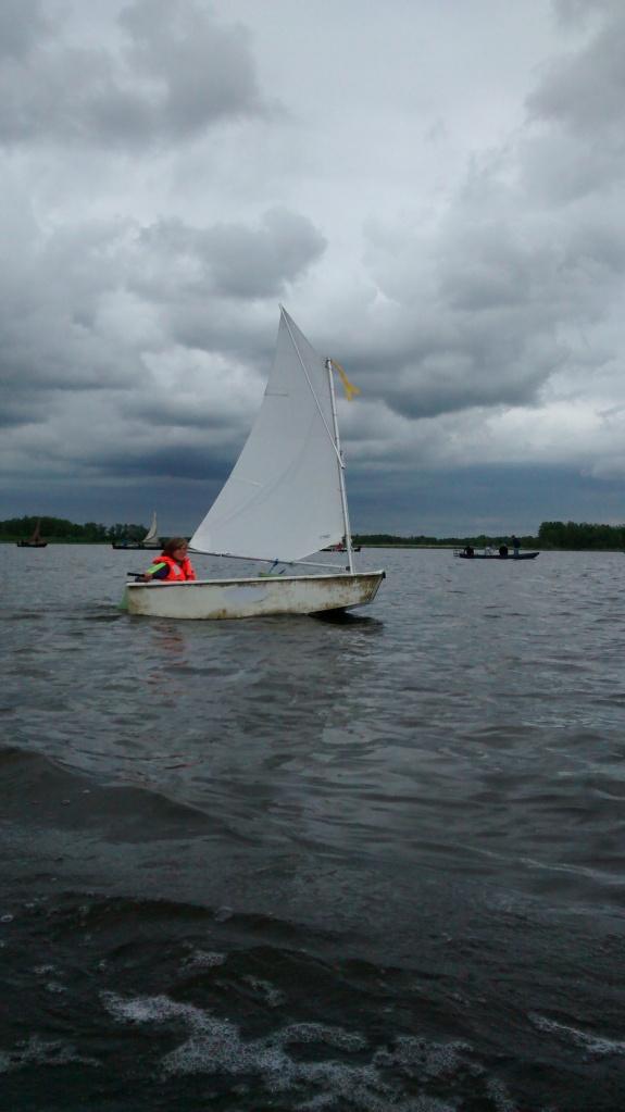 Anemone berlayar seorang diri